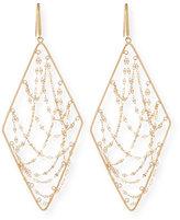 Lana Large 14K Glimmer Chain Drop Earrings