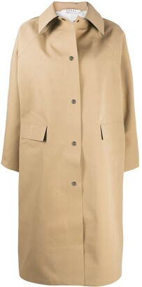Kassl Editions Point Collar Rain Coat