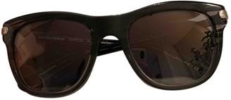 Oliver Peoples Anthracite Plastic Sunglasses