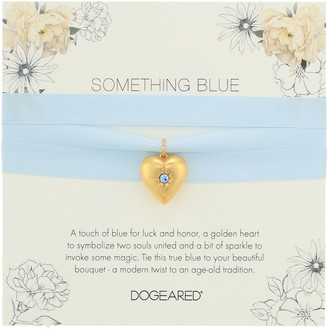Dogeared Something Blue Bouquet Wrap