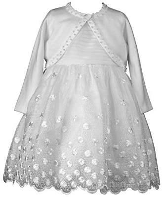Heritage Tatum Girls Christening Gown, 0 to 3 Months, White