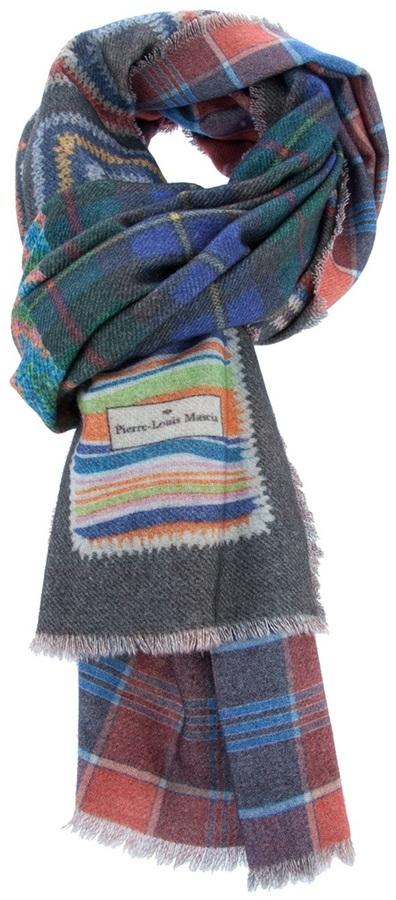 Pierre Louis Mascia Pierre-Louis Mascia Checked scarf