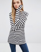 Cheap Monday Stripe Split Side Top