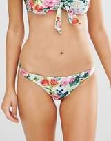 Seafolly Floral Print Bikini Bottoms