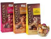 Godiva Chocolatier Wrapped Milk Chocolate/Gift Set of 3