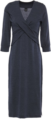 ELSE Ella Twisted Wool And Cotton-blend Jersey Nightshirt