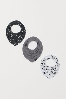 H&M 3-Pack Triangular Scarves
