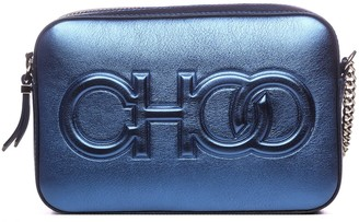 Jimmy Choo Blue Balti Bag