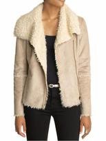 AG Adriano Goldschmied T Los Angeles Shearling Moto Jacket