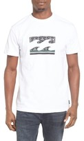 Billabong Men's Pipe Wave Graphic T-Shirt