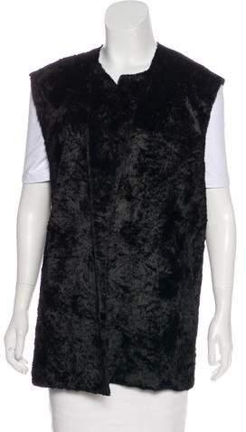 Ann Demeulemeester Sleeveless Faux Fur Vest