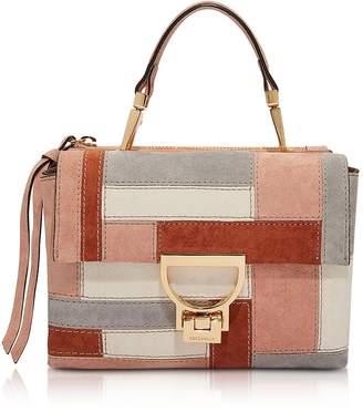 Coccinelle Arlettis Patch Suede Shoulder Bag