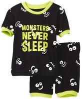 Petit Lem Monsters Never Sleep Pajama - 2-Piece Set (Baby Boys)