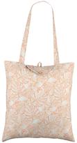Radley Wild Palms Foldaway Shopper Bag, Pale Pink