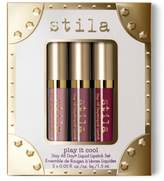 Stila Play It Cool Stay All Day Liquid Lipstick Set - No Color