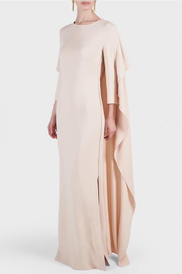 Antonio Berardi Moreen Long Cape Dress