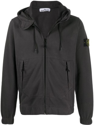Stone Island Compass badge logo patch hoodie