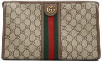 Gucci Beige GG Ophidia Pouch
