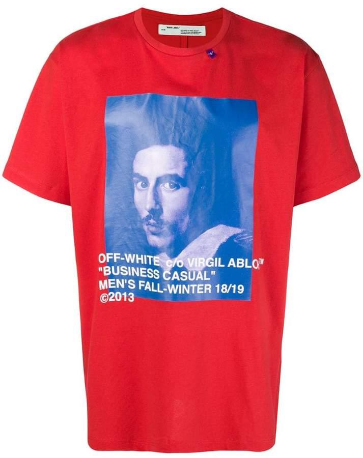 Off-White Bernini print T-shirt
