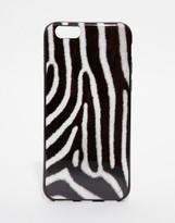 Signature Iphone 6 Case In Zebra Print