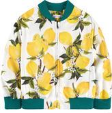 Dolce & Gabbana Waterproof strawberry print jacket