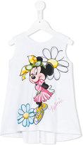 MonnaLisa Minnie print top - kids - Cotton/Spandex/Elastane - 4 yrs