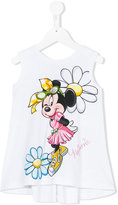 MonnaLisa Minnie print top - kids - Cotton/Spandex/Elastane - 6 yrs
