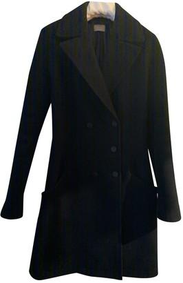Alaia Black Wool Coats