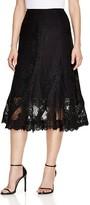 Kobi Halperin Rydel Lace Panel Midi Skirt