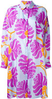 Jucca abstract print shirt dress - women - Silk - 44