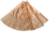 Season's Designs Gold Sequin Border Tree Skirt