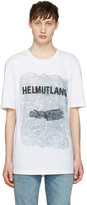 Helmut Lang White Ss T-shirt