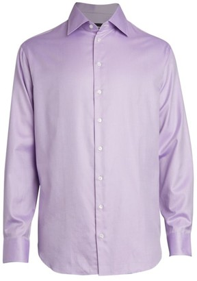Giorgio Armani Micro Stripe Dress Shirt