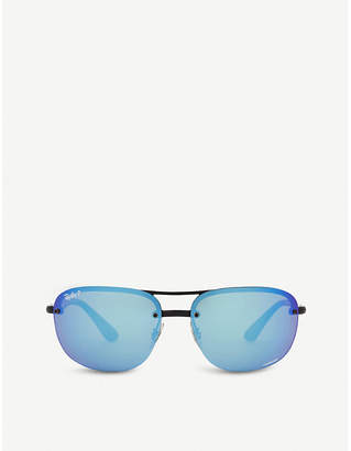 Ray-Ban Rb4275 Chromance square-frame sunglasses