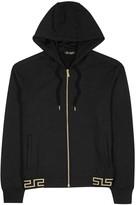 Versace Black Hooded Modal Blend Sweatshirt