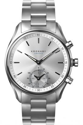 Unisex Kronaby SEKEL Alarm Watch A1000-0715