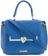Love Moschino flap closure crossbody bag