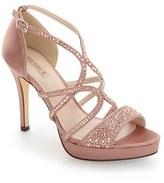 Menbur Women's Guadalope Crystal Embellished Sandal