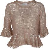 Dondup Sequin Embellished Blouse