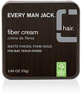 Every Man Jack Fiber Cream, Fragrance Free, 75 Gram