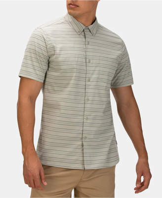 Hurley Men Dri-fit Staycay Button Down Short Sleeve Shirt