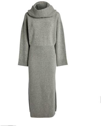 Kenzo Rollneck Wool Dress