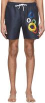 Saturdays NYC Navy Timothy S.C. Swim Shorts
