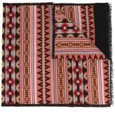 Valentino Garavani tribal print scarf