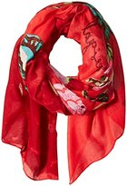 Desigual Women's Rectangle Britania Foulard Scarf