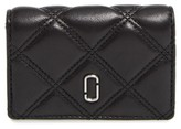 Marc Jacobs Women's Quilted French Wallet - Black