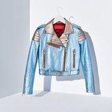 Tommy Hilfiger Metallic Leather Jacket