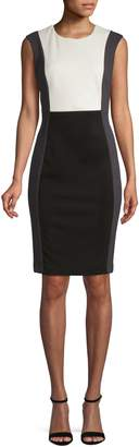 Calvin Klein Colourblock Sheath Dress