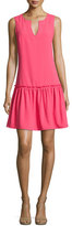 Trina Turk Yarrow Sleeveless Crepe Dress, Pink