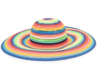 Eugenia Kim Bunny rainbow-stripe hat
